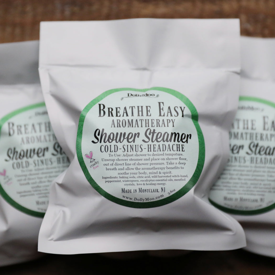 Breathe Easy Shower Steamer Collection 3 for $15