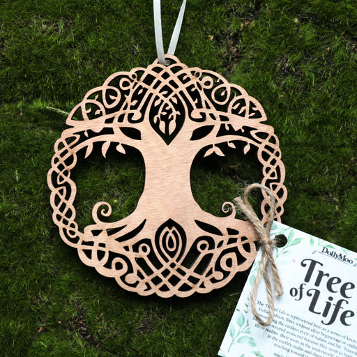 Tree of Life Wooden Adornment