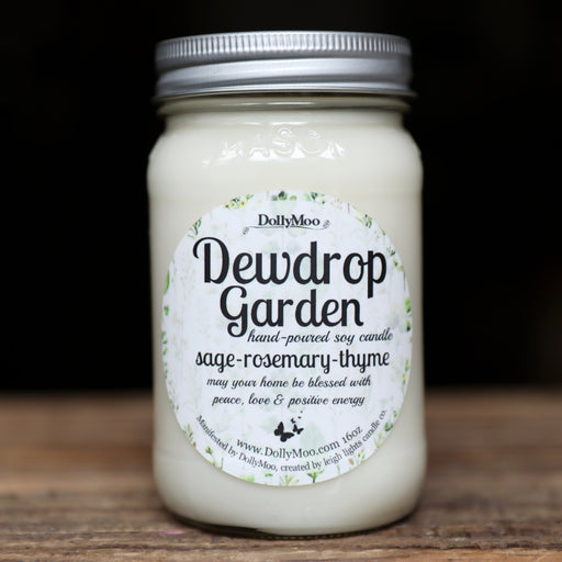 Dewdrop Garden Soy Candle
