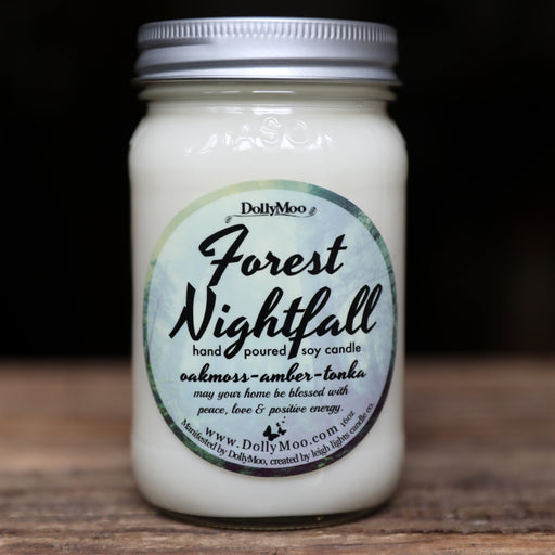 Forest Nightfall Soy Candle