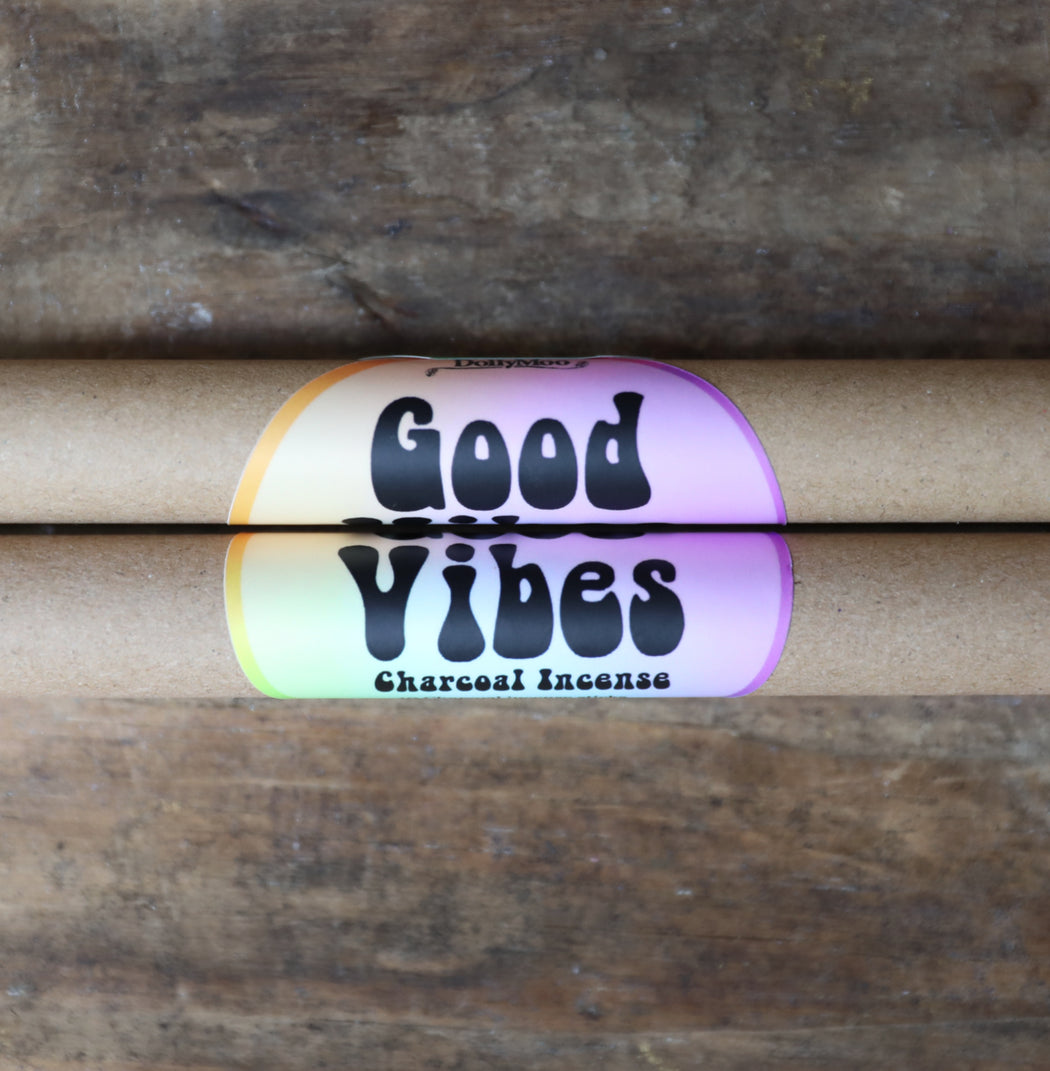 Good Vibes Charcoal Incense