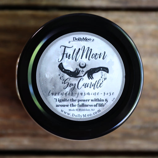 Full Moon Soy Candle NEXT FULL MOON: October 31, 2020