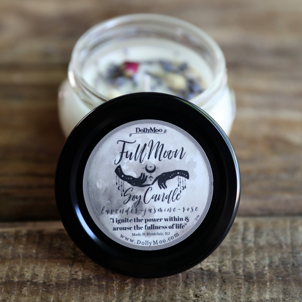 Full Moon Soy Candle NEXT FULL MOON: February 27, 2021