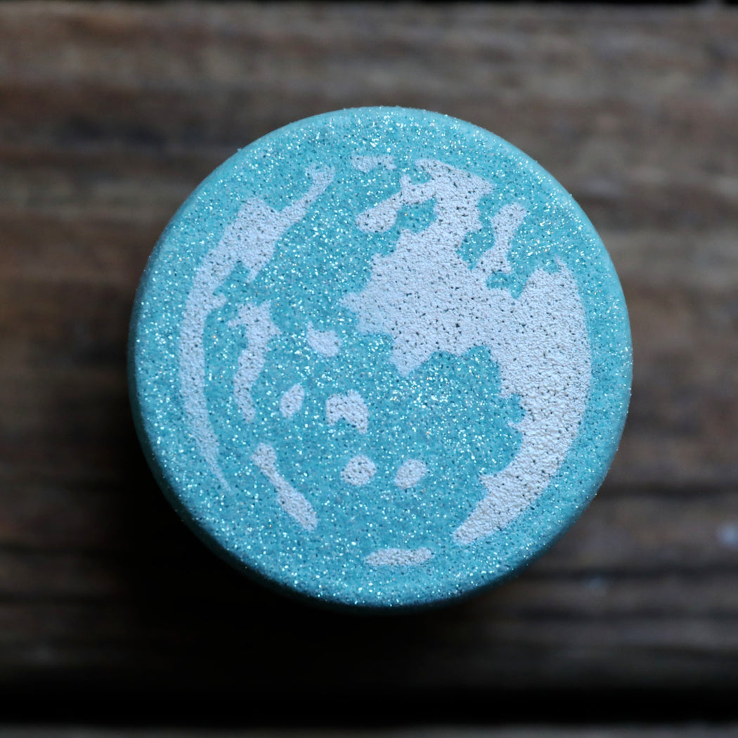 Blue Moon Bath Bomb ~Blue Moon October 31st~