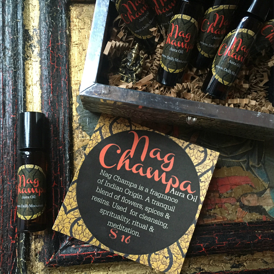 Nag Champa Aura Oil Roll-On Perfume