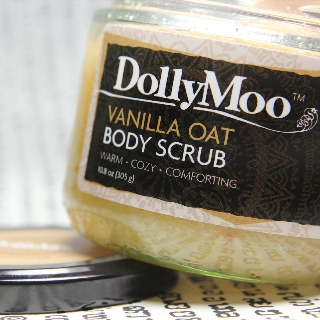 Vanilla Oat Body Scrub 10oz