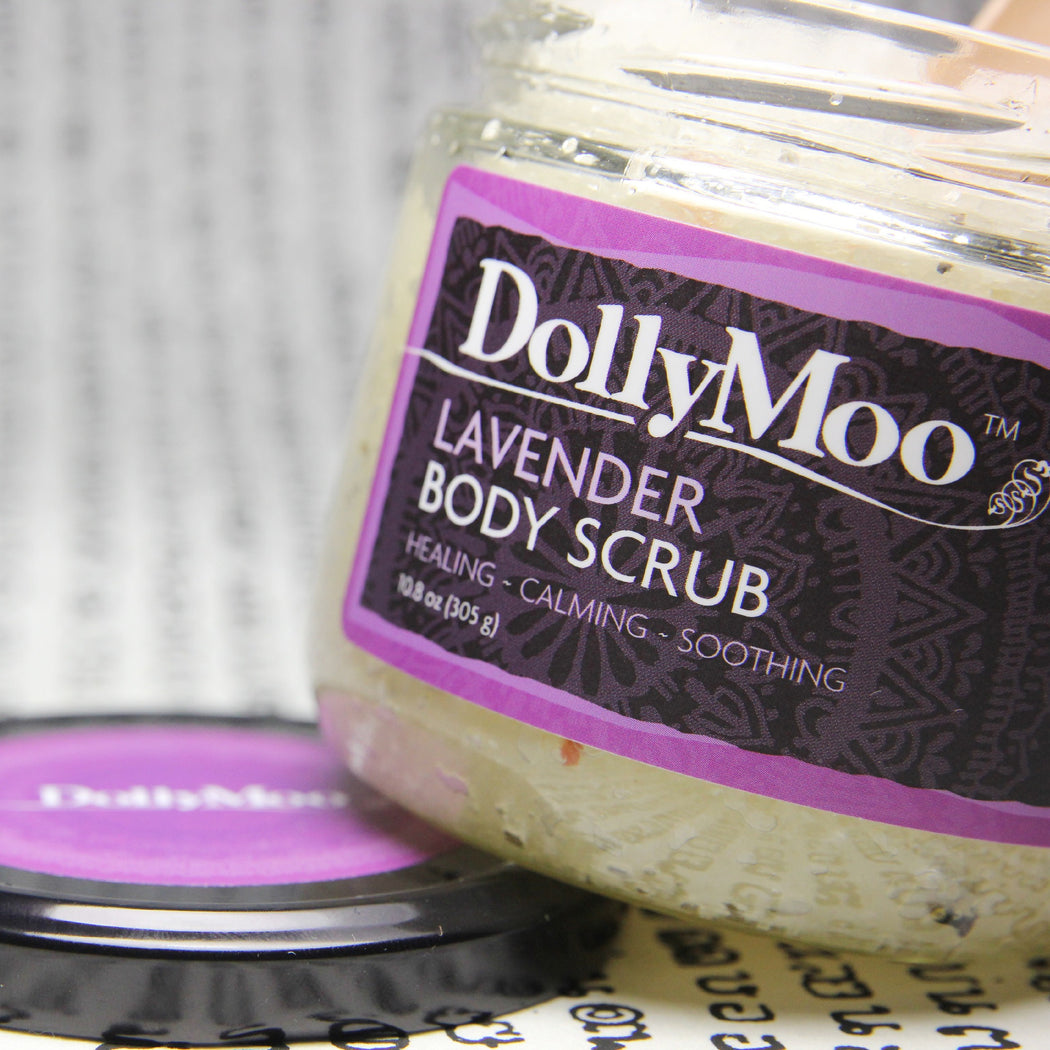Lavender Body Scrub 10oz