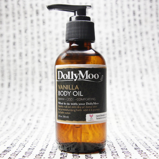 Vanilla Body Oil 4oz