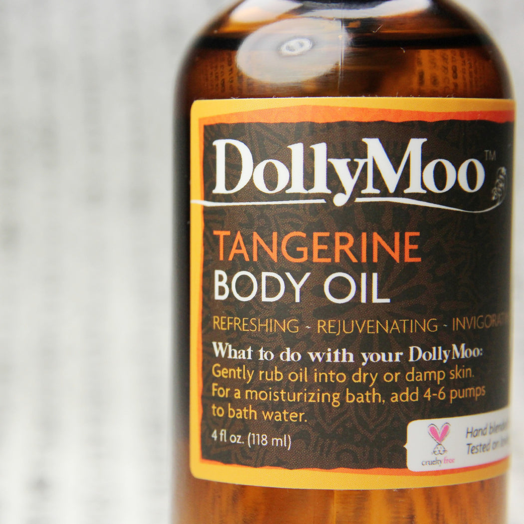 Tangerine Body Oil 4oz