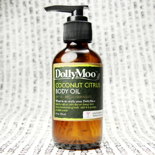 Coconut Citrus Body Oil 4oz