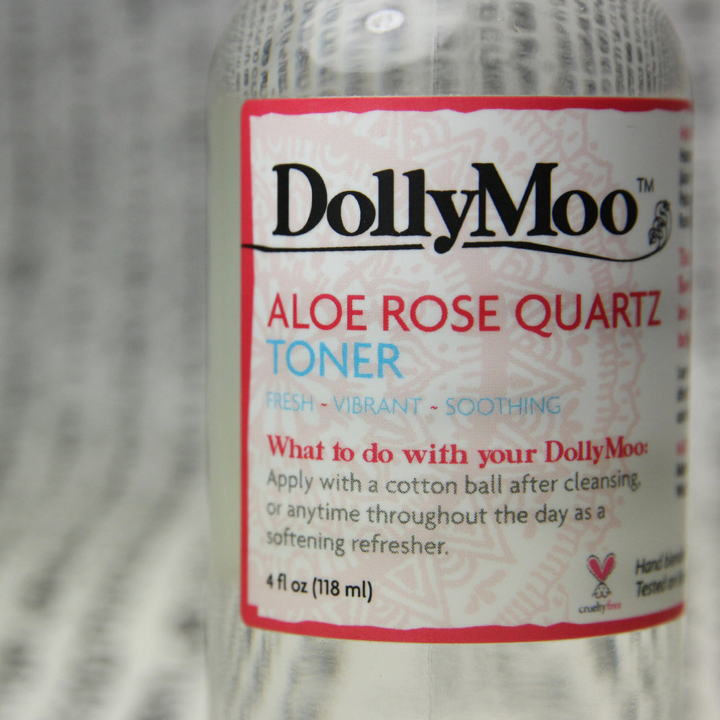 Aloe Rose Quartz Toner 4oz