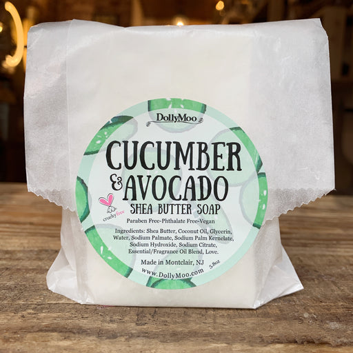 Cucumber Avocado Shea Butter Soap