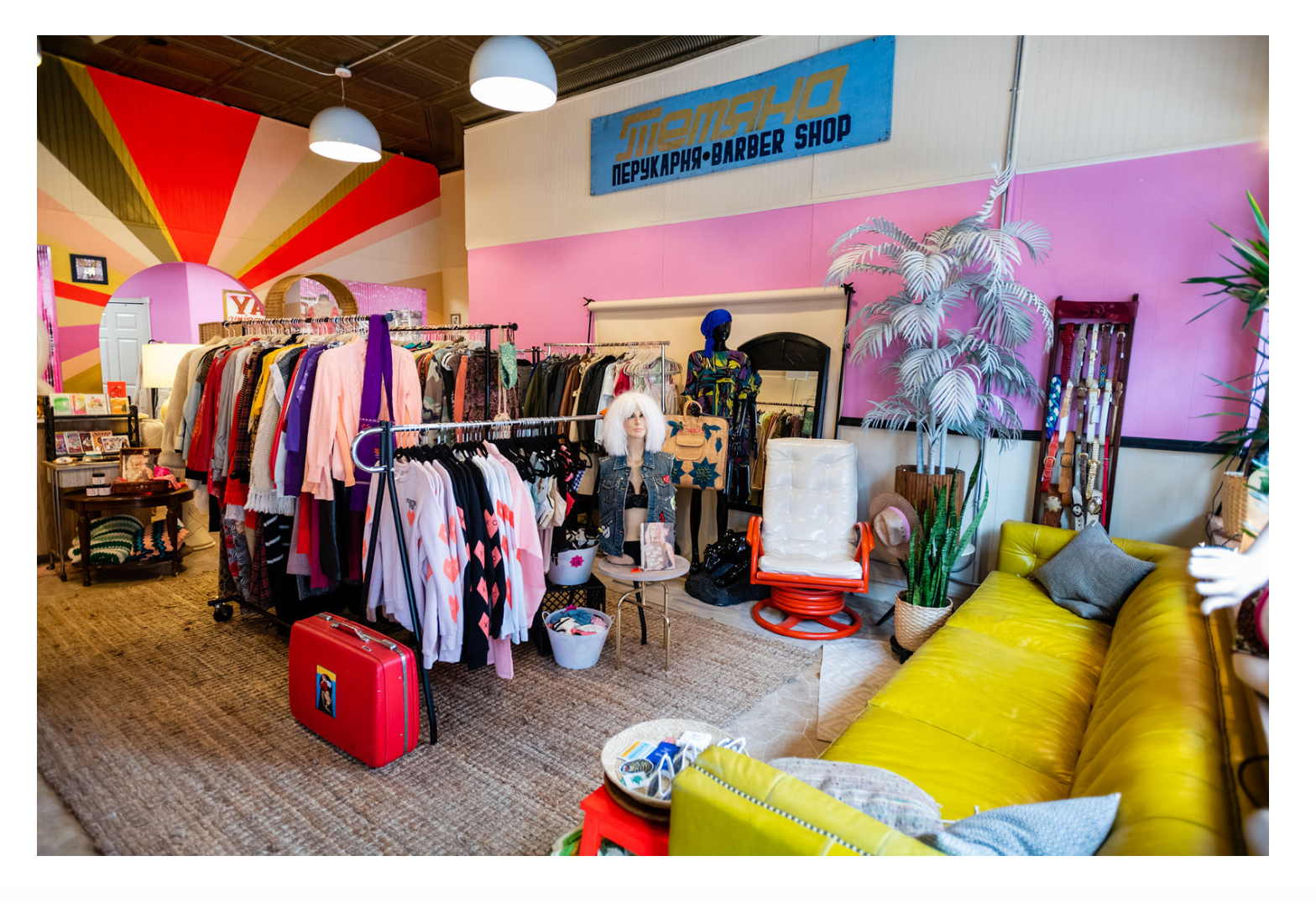 Chicago store filled with swimwear and vintage