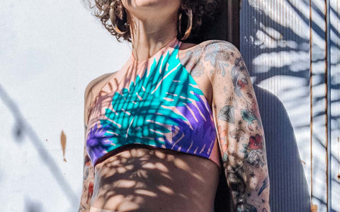 recycled swimwear collection