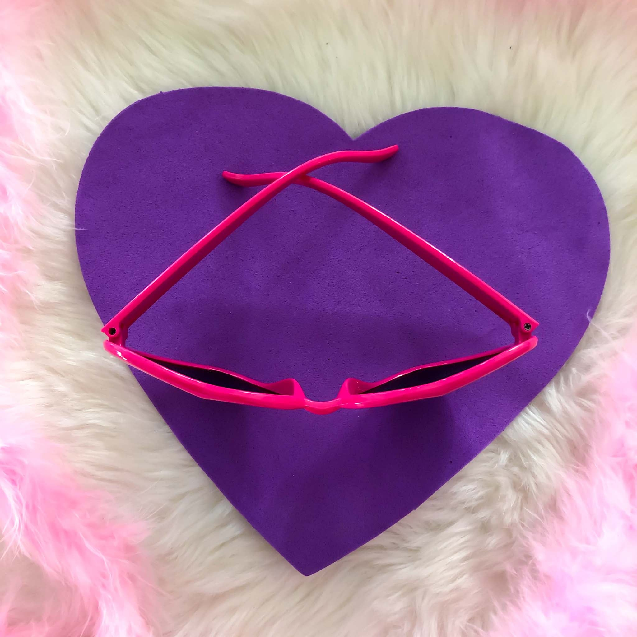 Heart Shaped Sunglasses ASSORTED COLORS