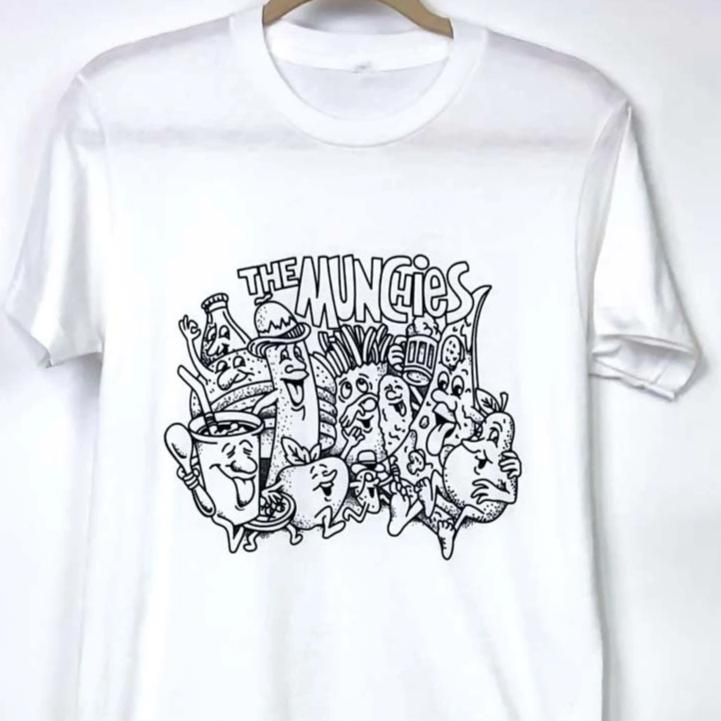 Stoner Graphic Tee Shirt : The Munchies Tee