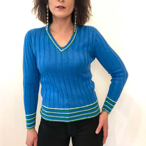 vintage ribbed sweater