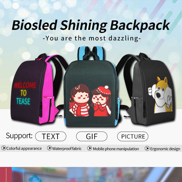 BIOS- B-Shining LED Backpack-