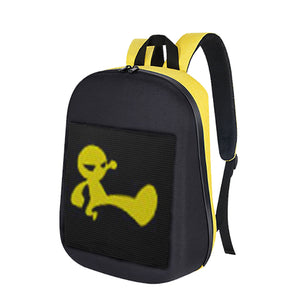 BIOSLEDBackpack B-Eco yellow