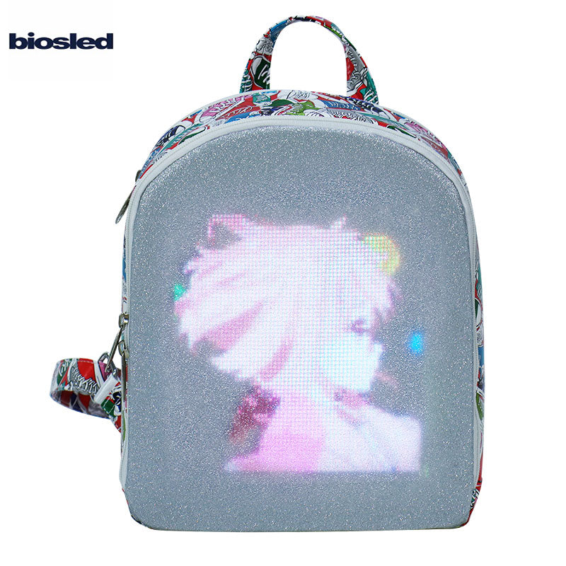 BIOSLED the CITY ELF dynamic LED Backpack | Fashion for Gift