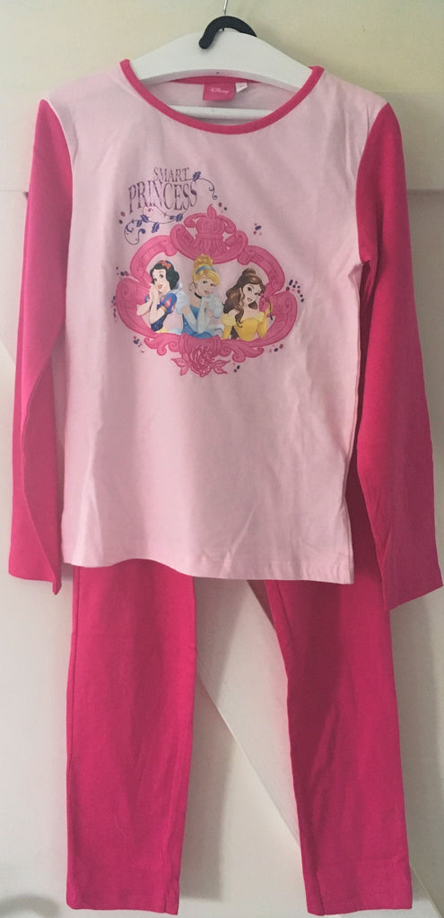 New Disney Princess Girls Pyjamas - Official - 100% Cotton - Size 6 Years