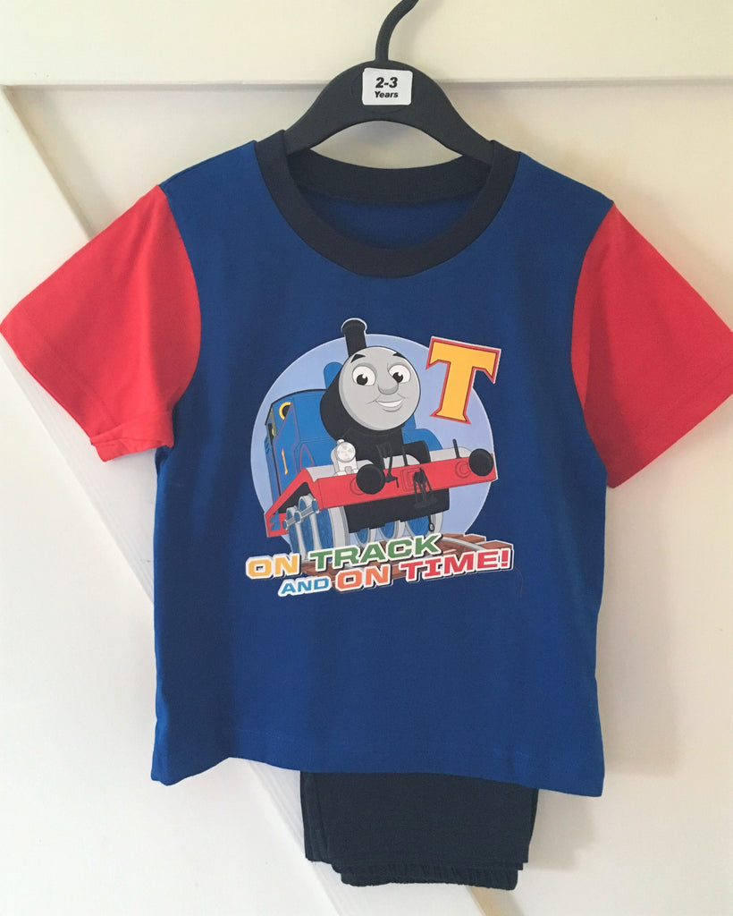 New Boys Thomas The Tank Engine 2 Pc Pyjama Set - Exstore - Size 2/3 Yrs