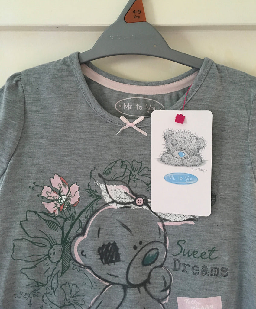 New Girls Tatty Teddy Sweet Dreams Nightdress - Official Me to You - Ages 2-5 Years