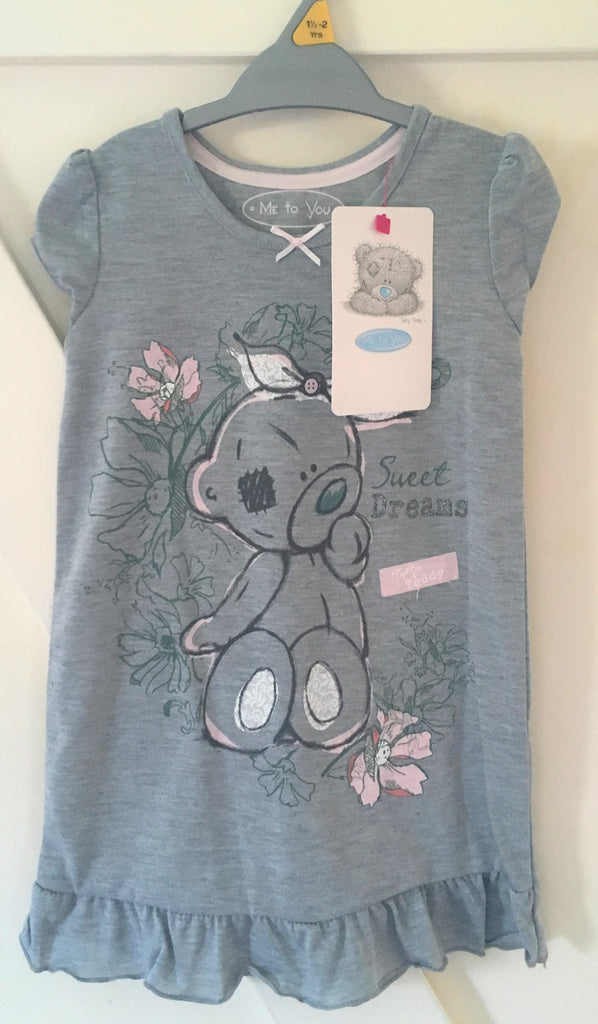 New Baby Girls Tatty Teddy Sweet Dreams Nightdress - Official Me to You - Ages 18-24 M