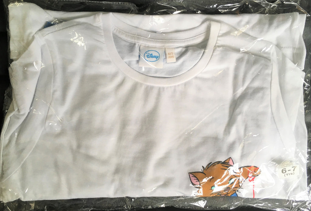 New Official Disney Aristocats Boys Girls Pyjama Set - 100% Cotton - Ages 6-7 Yrs