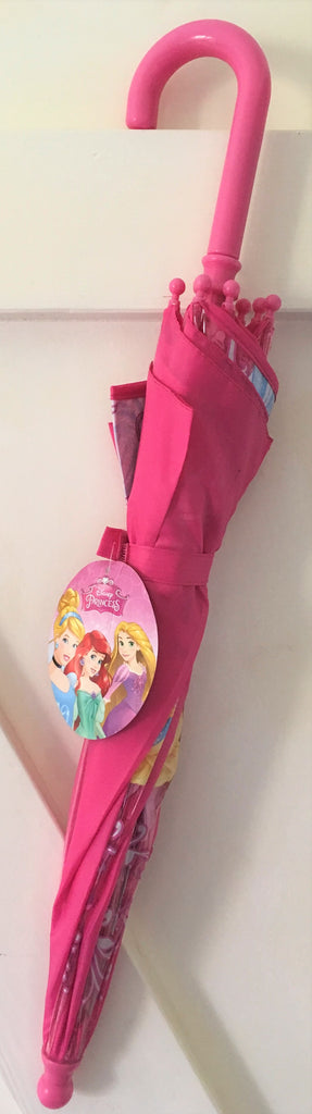 New Girls Disney Princess Umbrella - Easy Grip Wipe Clean Exstore 3+ Yrs 54cm