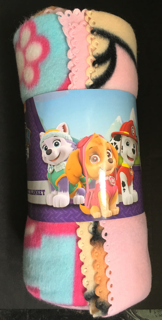 New Girls Paw Patrol Skye Soft Fleece Blanket Throw - Exstore - Size 150 x 100 cm