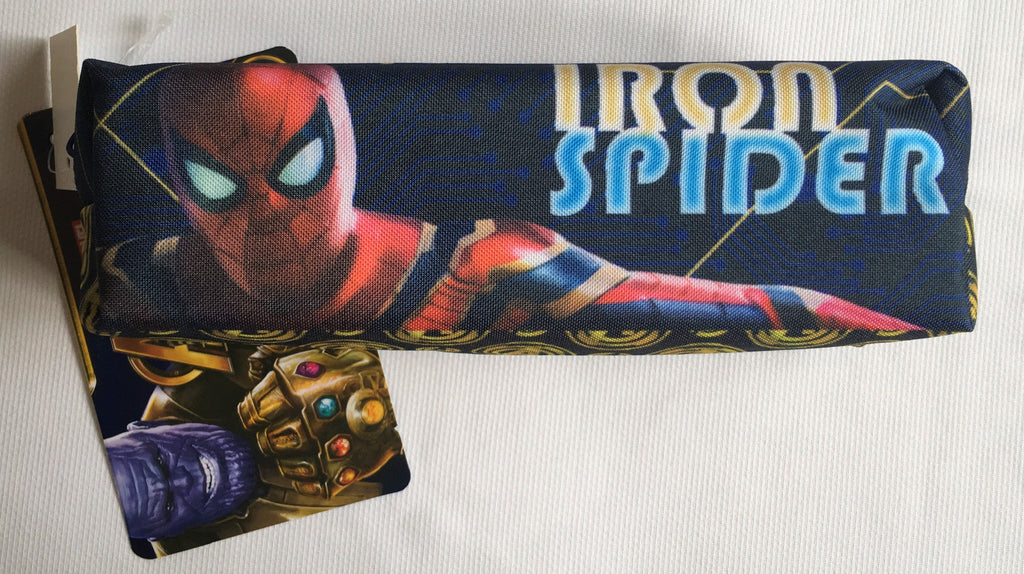 New Boys Iron Spider - Marvel Avengers Infinity War Pencil Case PVC - Official Exstore