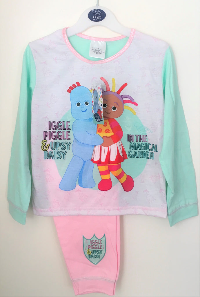 New Official In The Night Garden Girls Pyjama Set The Magical Garden Ages 12/24M, 2-4 Years