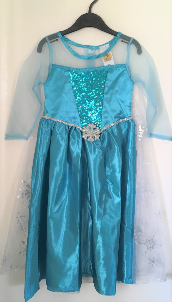 New Girls Disney Frozen Dressing Up Costume Ages 4-6 Years Christmas Gift
