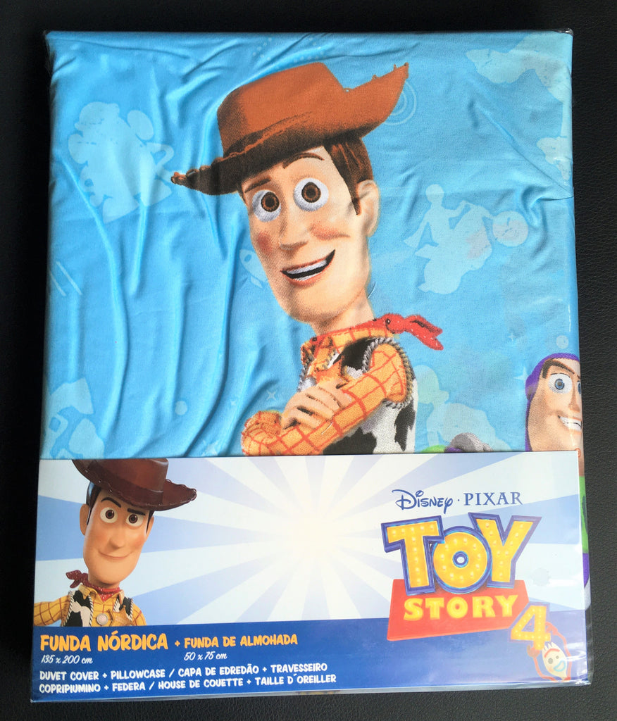 New Official Toy Story 4 Lasso Reversible Duvet & Pillowcase Set Christmas Gift