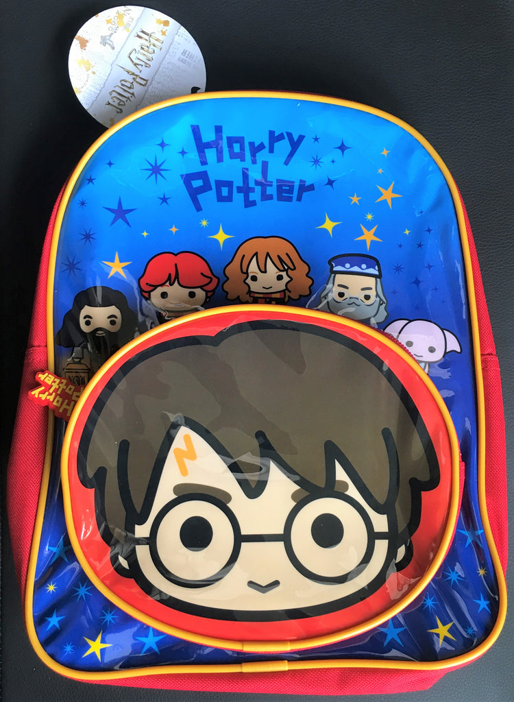 New Official Harry Potter Charms Character Ruck Sack School Bag Christmas Gift