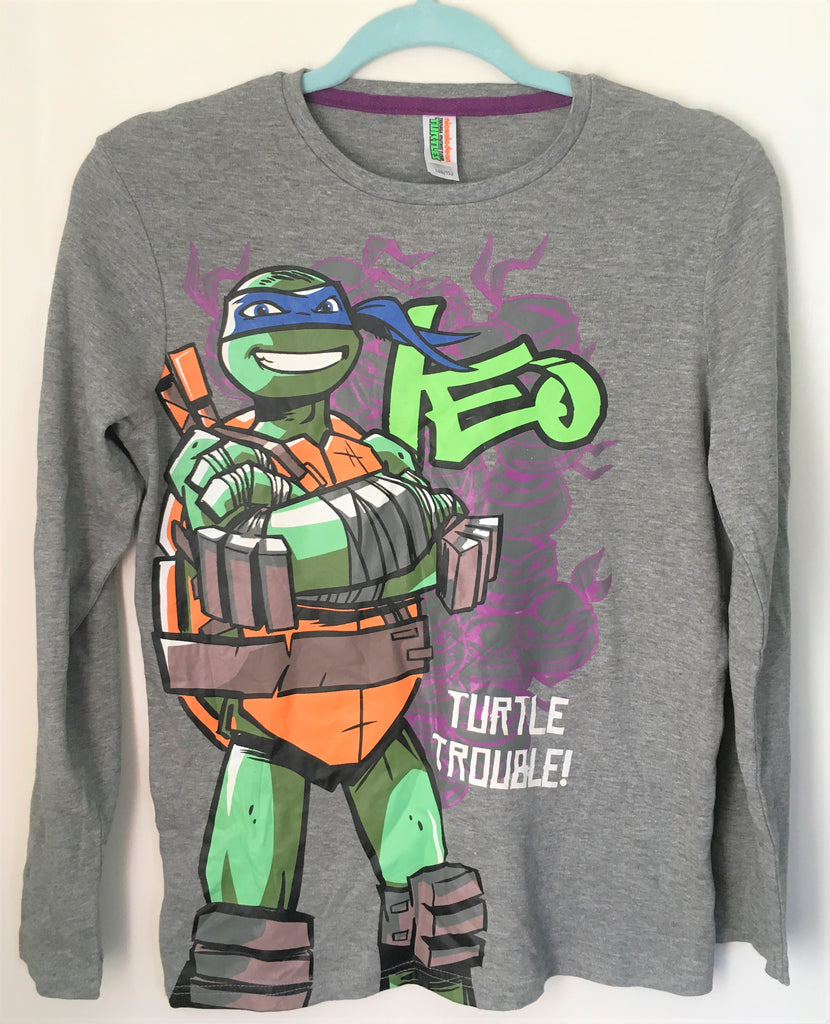 New Boys Teenage Mutant Ninja Turtles L/S Official Top Ages 12-16 Years
