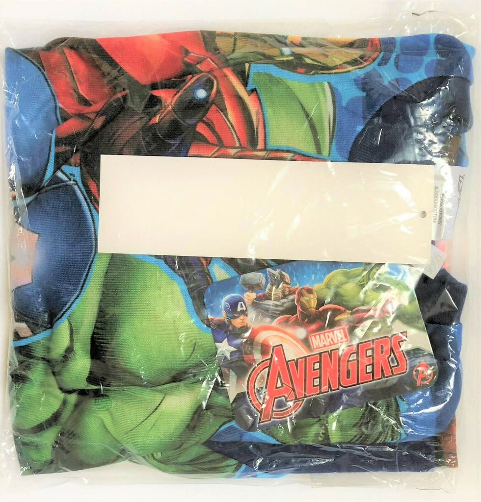 New Marvel Avengers Boys Long Sleeved Top - Exstore Official Marvel - Ages 4-8 Yrs