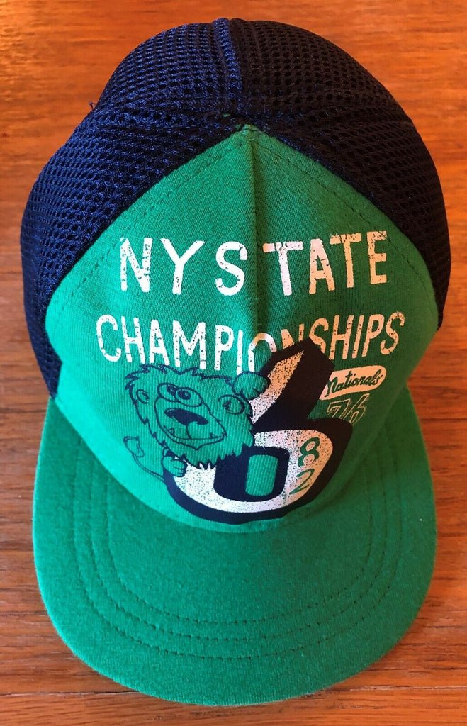 New Baby Boys Baseball Cap - Exstore Next - Green NY State - 100% Cotton - 12-24 Months