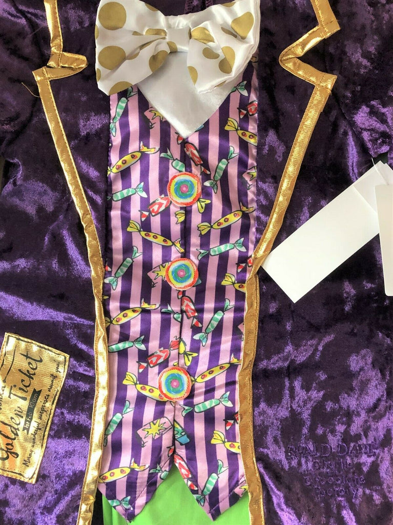 New Charlie & The Chocolate Factory Outfit -  Exstore - Ages 5-6 & 7-8 Yrs