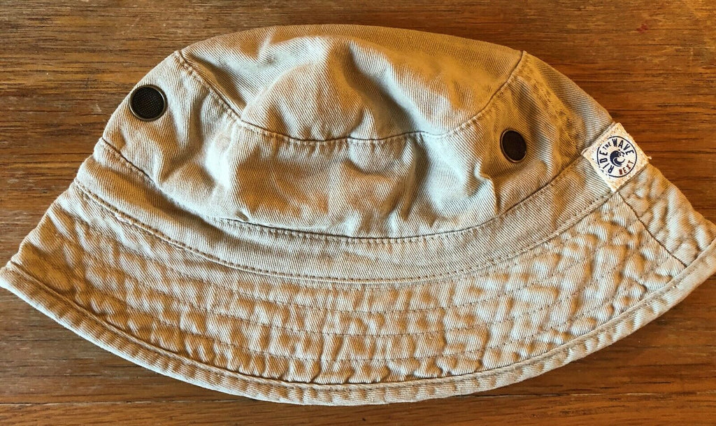 New Baby Boys Fisherman Sun Hat Beige - Exstore Next - 100% Cotton - 6-12M