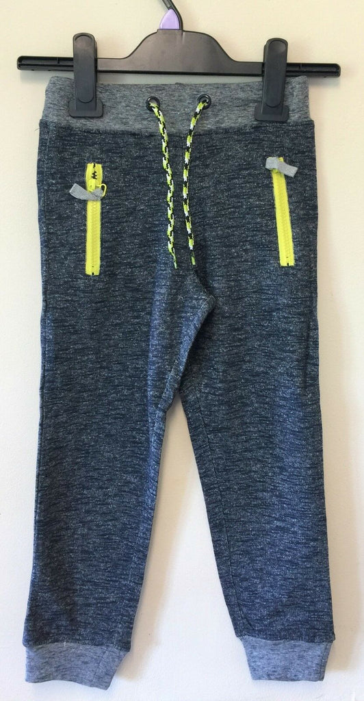 New Boys Girls Joggers Tracksuit Bottoms - Exstore - Blue - Ages 3-4, 4-5 Years