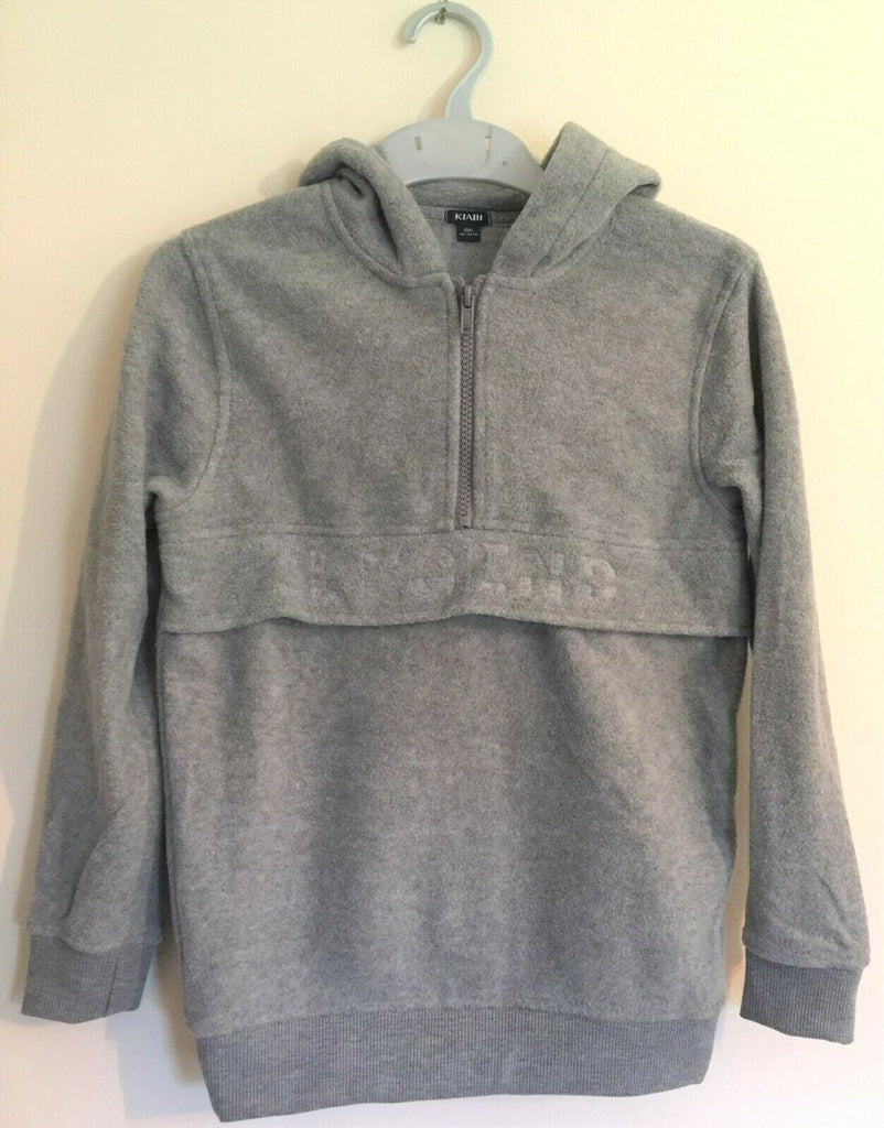 New Boys Legend Grey Fleece Hoodie - Exstore Kiabi - Ages 6 8 10 12 Years
