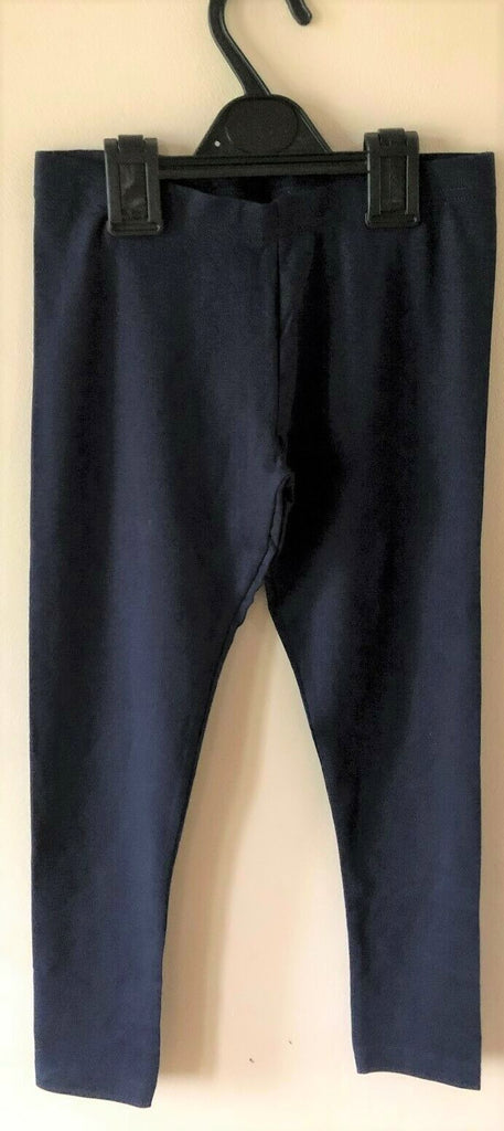 New Exstore Next Girls Navy Blue Leggings - Sizes 8-9 Years