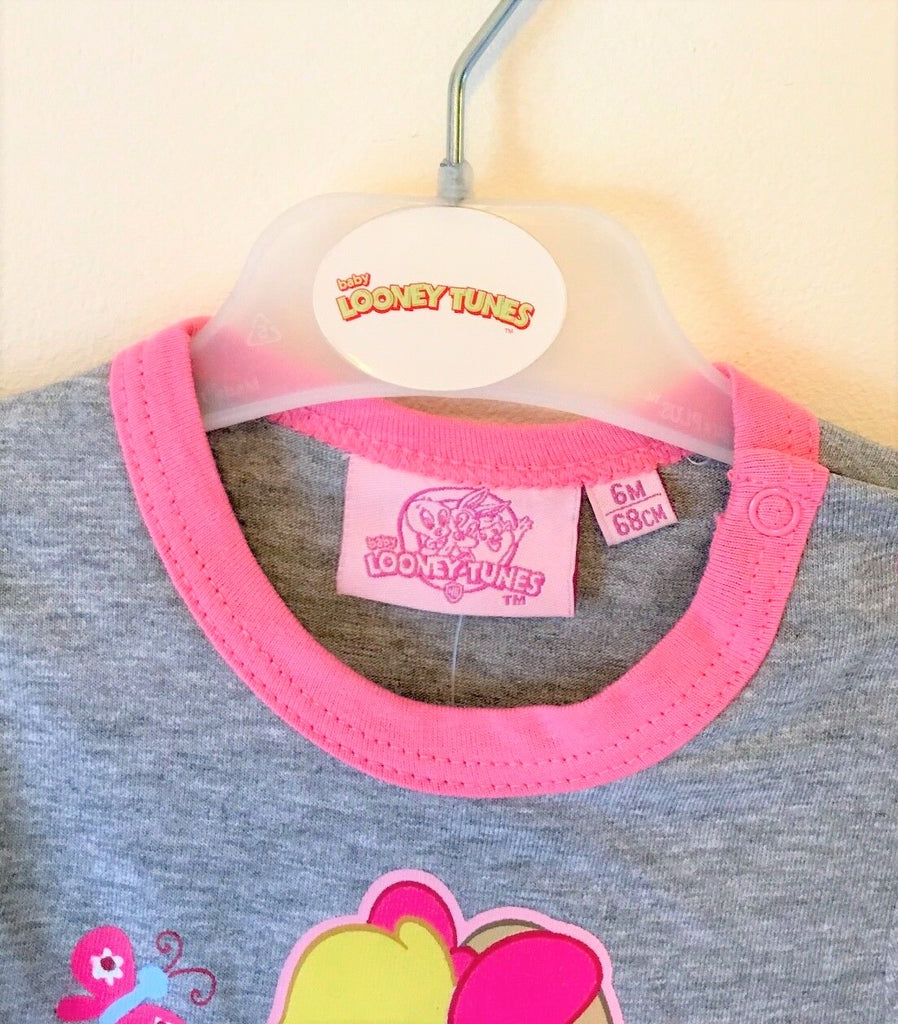 New Looney Tunes Baby Lola Bunny Long Sleeved Vest - Size 24 Months