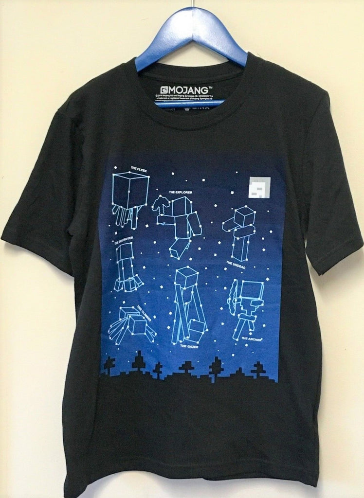 New Boys Minecraft Constellation Tshirt Destroyer Undead - Jinx Exstore - Age 11-12 Y