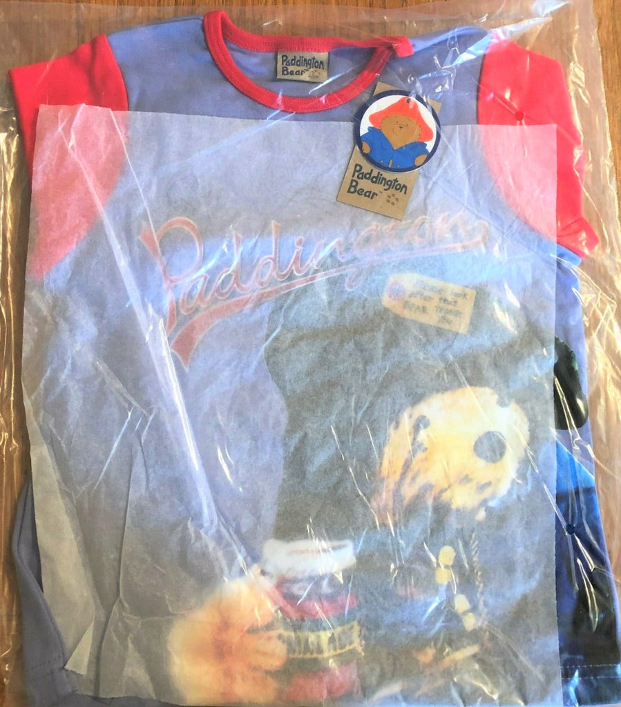 New Boys Paddington Bear Marmalade Long Sleeved Top Bagged - Exstore - Sizes 6-24 M