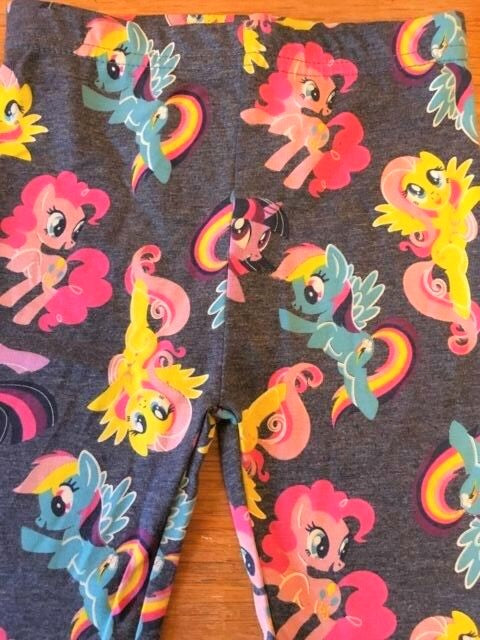New Official My Little Pony Girls Leggings Blue - Exstore Highstreet - Ages 18-24 Months
