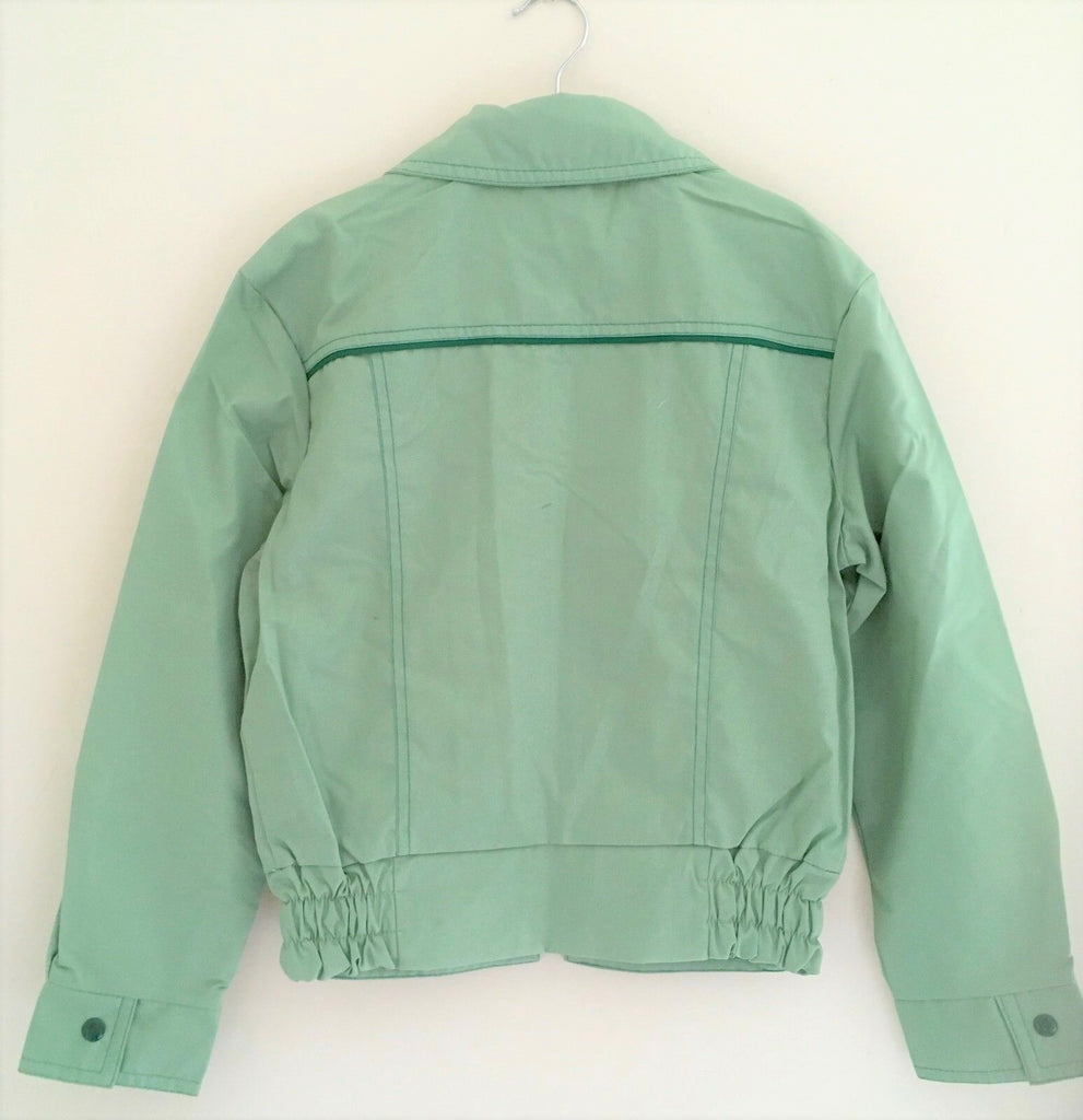 New Retro 1970s Boys Holborn Jacket - Spearmint Green - Exstore - Size 7-8 Years
