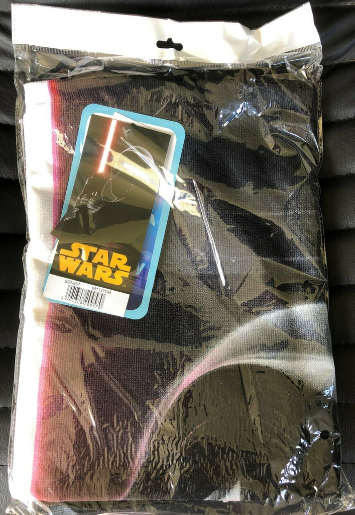 New Disney Star Wars Bath Beach Towel Gift -  Official - Fast Dry Technology - 137x68cm
